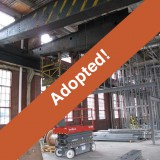 Bethlehem Steel Electrical Shop Overhead Crane
