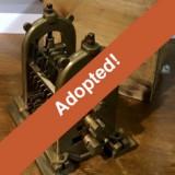 Three-High Rail Mill Patent Model