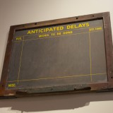 Bethlehem Steel Blackboard