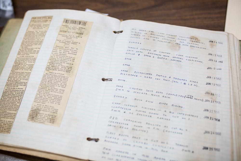 Artifact Spotlight: Bethlehem Steel Mining Logs