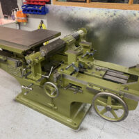 Rare, expertly-restored Greenlee variety woodworking machine delivered to NMIH